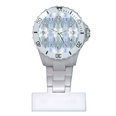 Ice Crystals Abstract Pattern Nurses Watches