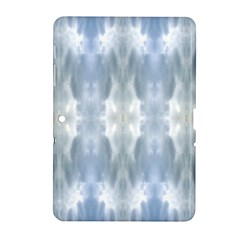 Ice Crystals Abstract Pattern Samsung Galaxy Tab 2 (10 1 ) P5100 Hardshell Case
