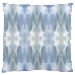 Ice Crystals Abstract Pattern Large Flano Cushion Cases (two Sides)  by Costasonlineshop