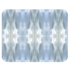 Ice Crystals Abstract Pattern Double Sided Flano Blanket (medium)