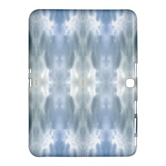 Ice Crystals Abstract Pattern Samsung Galaxy Tab 4 (10 1 ) Hardshell Case