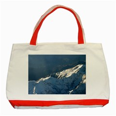 Mount Tapuaenuku Classic Tote Bag (red)  by trendistuff