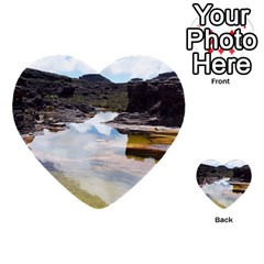 Mount Roraima 1 Multi Purpose Cards (heart)  by trendistuff