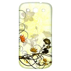 Wonderful Flowers With Leaves On Soft Background Samsung Galaxy S3 S Iii Classic Hardshell Back Case by FantasyWorld7