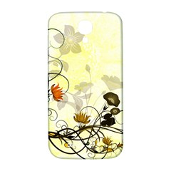 Wonderful Flowers With Leaves On Soft Background Samsung Galaxy S4 I9500/i9505  Hardshell Back Case