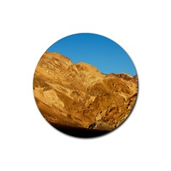 Death Valley Rubber Coaster (round)  by trendistuff