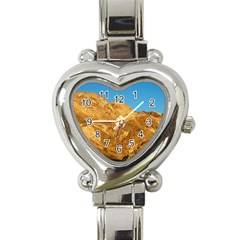 Death Valley Heart Italian Charm Watch by trendistuff
