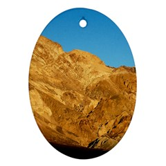 Death Valley Oval Ornament (two Sides) by trendistuff