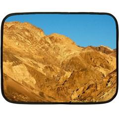 Death Valley Double Sided Fleece Blanket (mini)  by trendistuff