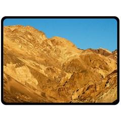 Death Valley Fleece Blanket (large)  by trendistuff
