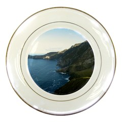 CROAGHAUN CLIFFS Porcelain Plates by trendistuff