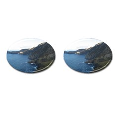 Croaghaun Cliffs Cufflinks (oval) by trendistuff
