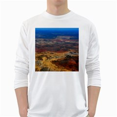 Chapada Diamantina 3 White Long Sleeve T Shirts by trendistuff