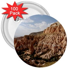 CAPPADOCIA 2 3  Buttons (100 pack)  by trendistuff