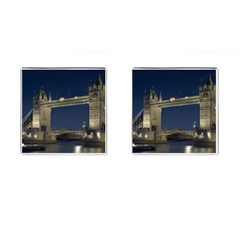 Tower Bridge Cufflinks (square) by trendistuff