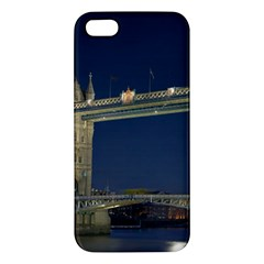TOWER BRIDGE iPhone 5S Premium Hardshell Case by trendistuff