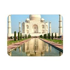 Taj Mahal Double Sided Flano Blanket (mini)  by trendistuff