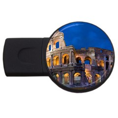 Rome Colosseum 2 Usb Flash Drive Round (4 Gb)  by trendistuff