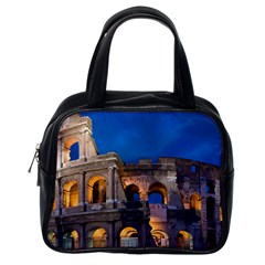 Rome Colosseum 2 Classic Handbags (one Side) by trendistuff