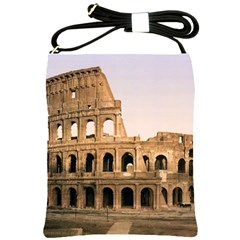 Rome Colosseum Shoulder Sling Bags by trendistuff