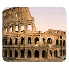 Rome Colosseum Double Sided Flano Blanket (small)  by trendistuff