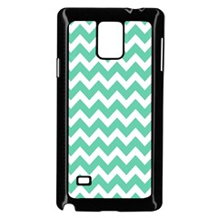 Chevron Pattern Gifts Samsung Galaxy Note 4 Case (Black) by creativemom