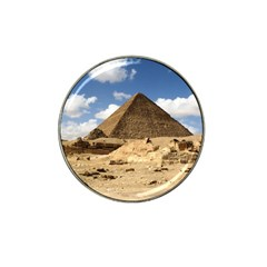 Pyramid Giza Hat Clip Ball Marker (4 Pack) by trendistuff