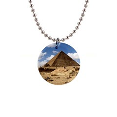 Pyramid Giza Button Necklaces by trendistuff