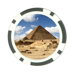 Pyramid Giza Poker Chip Card Guards (10 Pack)  by trendistuff