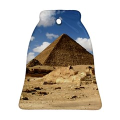 Pyramid Giza Ornament (bell)  by trendistuff