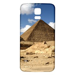 PYRAMID GIZA Samsung Galaxy S5 Back Case (White) by trendistuff