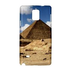 Pyramid Giza Samsung Galaxy Note 4 Hardshell Case by trendistuff