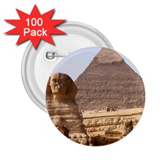 Pyramid Egypt 2 25  Buttons (100 Pack)  by trendistuff