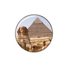 Pyramid Egypt Hat Clip Ball Marker by trendistuff