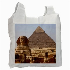 Pyramid Egypt Recycle Bag (two Side)  by trendistuff
