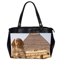 Pyramid Egypt Office Handbags (2 Sides)  by trendistuff