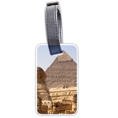 Pyramid Egypt Luggage Tags (one Side)  by trendistuff