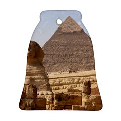 Pyramid Egypt Ornament (bell)  by trendistuff