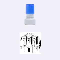 Petra Jordan Rubber Round Stamps (small) by trendistuff