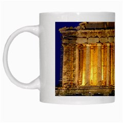 Parthenon 2 White Mugs by trendistuff