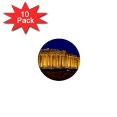 Parthenon 2 1  Mini Buttons (10 Pack)  by trendistuff