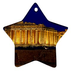 Parthenon 2 Star Ornament (two Sides)  by trendistuff