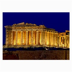 Parthenon 2 Large Glasses Cloth (2 Side) by trendistuff