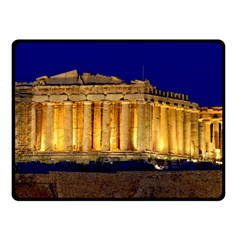 Parthenon 2 Fleece Blanket (small) by trendistuff