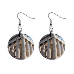 Parthenon Mini Button Earrings