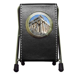 Parthenon Pen Holder Desk Clocks by trendistuff