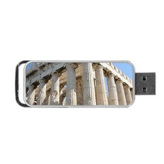 Parthenon Portable Usb Flash (one Side) by trendistuff