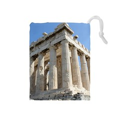 Parthenon Drawstring Pouches (medium)