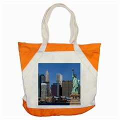 Ny Liberty 2 Accent Tote Bag  by trendistuff