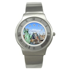 Ny Liberty 1 Stainless Steel Watches by trendistuff